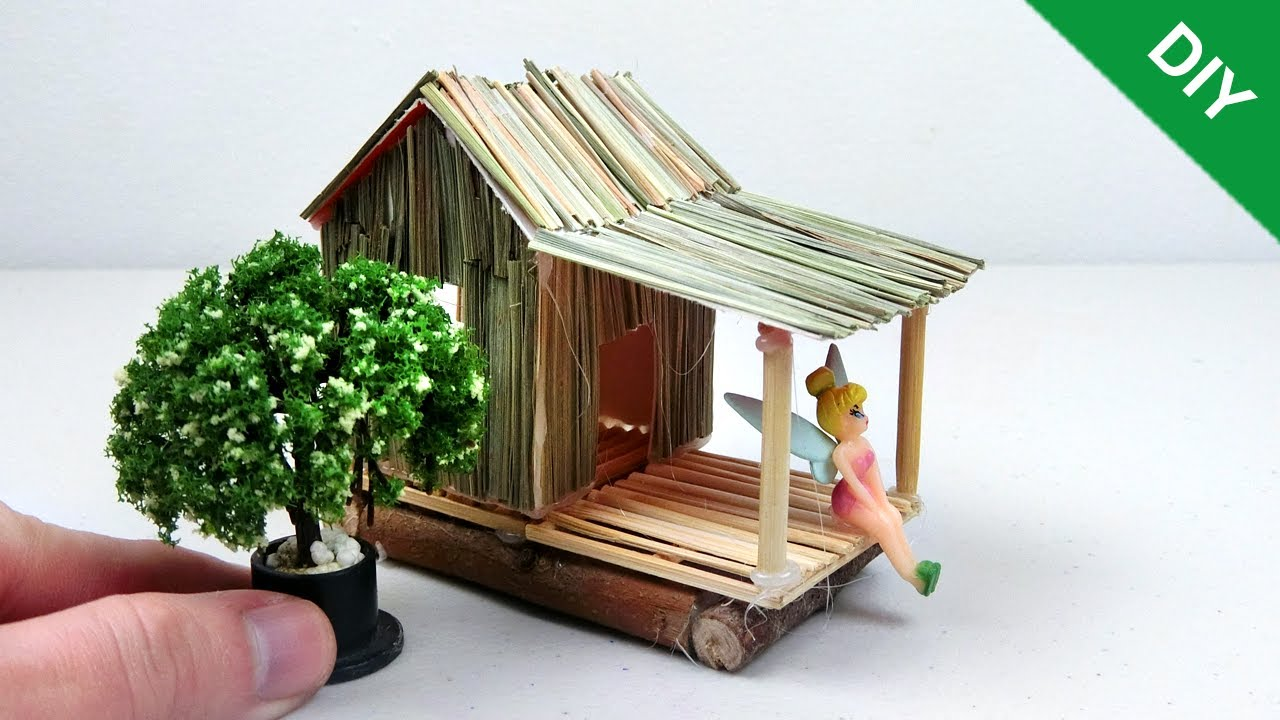 How to make Miniature Fairy House #16   Easy and Quick ...