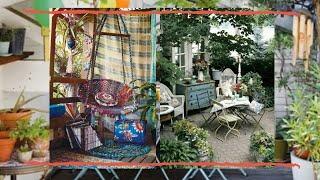 37 Beautiful Bohemian Patio Designs | Interior Design
