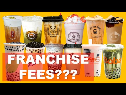 BEST MILK TEA SHOPS IN THE PHILIPPINES FRANCHISE FEES | Franchise Business | MIKEETV VIRALS #15