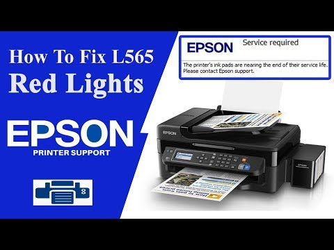 Epson L565 Resetter || A Printer's ink pad is at the end of its service life