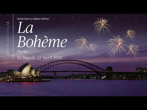 Join us in 2018 at Handa Opera on Sydney Harbour — La Bohème
