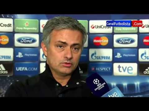 José Mourinho | Galatasaray 3-2 Real Madrid Champions League 09-04-2013