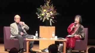 金子兜太&黒田杏子対話講演 明治大学 2016/4/23