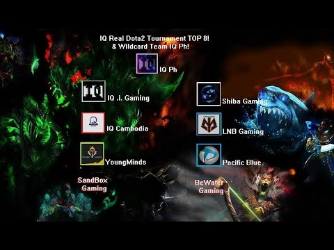Intelligence Quotient VS SandBox Gaming IQ Real Dota2 Tournament  Bo3
