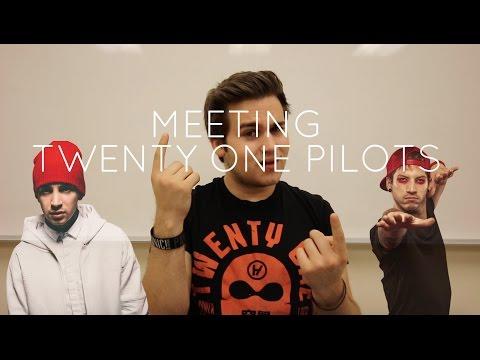 MEETING TWENTY ONE PILOTS!!!