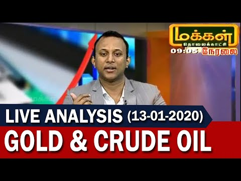 Gold And Crude Oil Live Analysis 13-01-2020