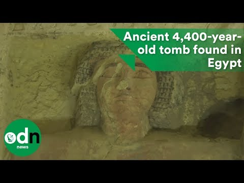 Ancient 4,400-year-old tomb found in Egypt
