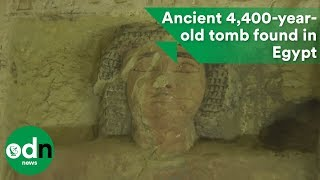 Ancient 4,400-year-old tomb discovered in Egypt