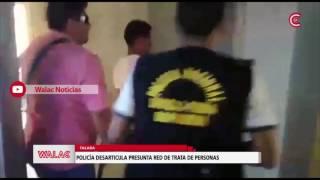 Talara: policía desarticula presunta red de trata de personas