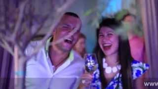 Свадьба в яхт-клубе 2014 Морская тематика (Валерия и Андрей)