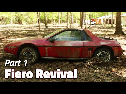 The Journey Begins | 1985 Fiero 2M4 Revival - Part 1