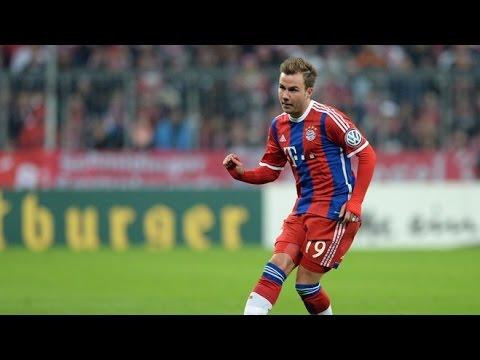 Mario Götze - All Goals 2014/2015