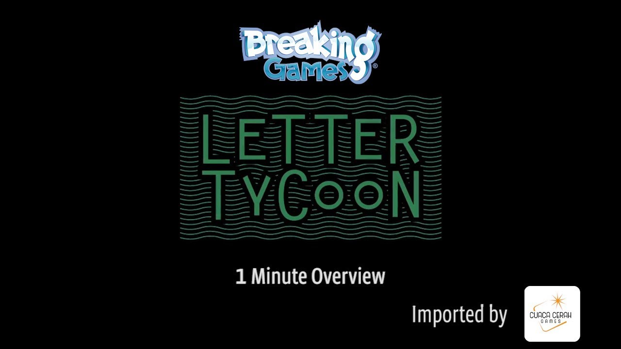 Letter Tycoon 1 Minute Overview
