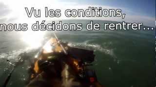 Kayak Hobie mirage révolution - Essai moteur torqeedo ultralight