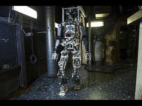 Scientists Unveil Firefighting Robot Prototype