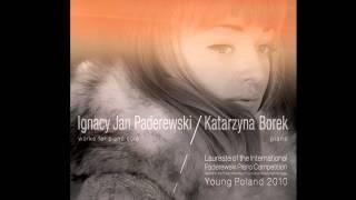 Katarzyna Borek plays Ignacy Jan Paderewski - Variations and Fugue in E flat minor op.23