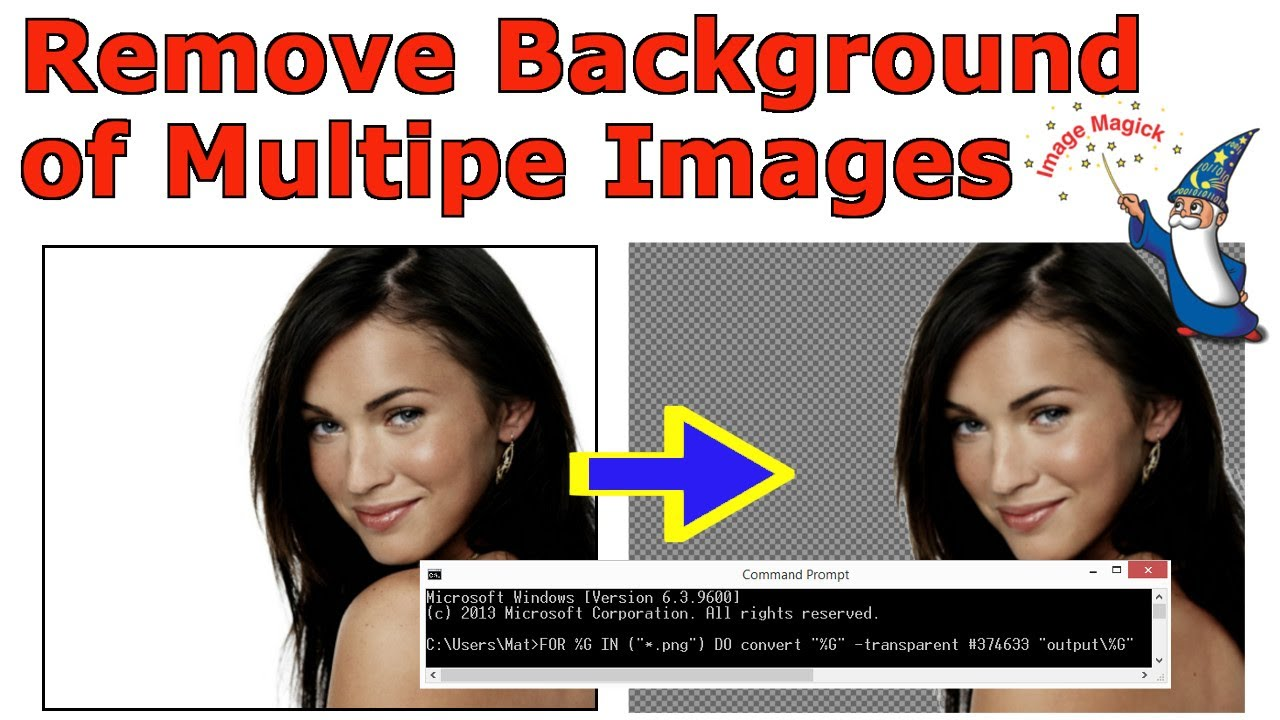 Remove Background from Multiple Images