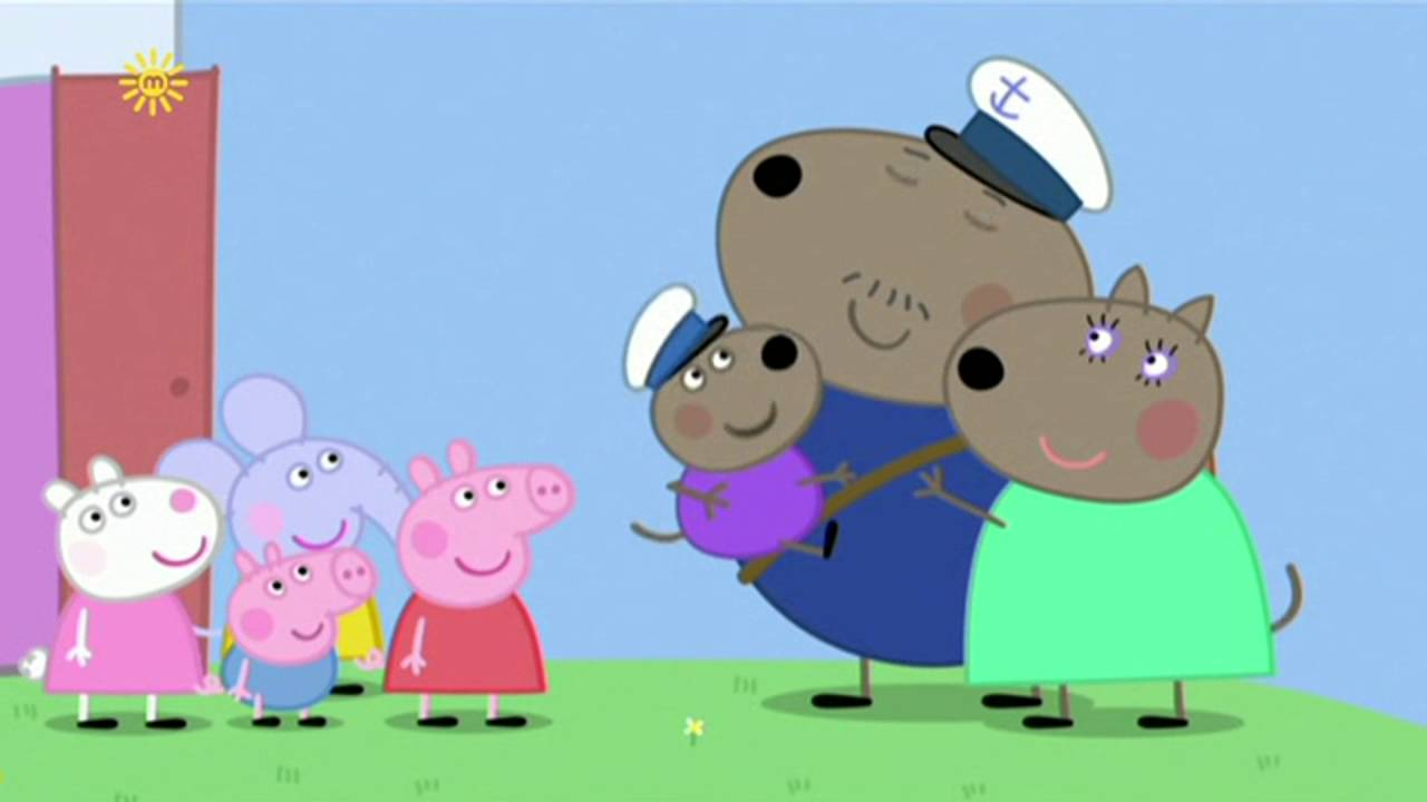 Peppa Pig - Captain Daddy Dog (15 episode / 4 season) [HD]