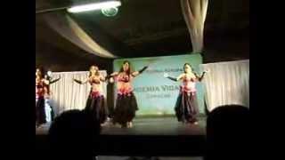 Presentacion de la Academia de baile Vidance en Gala del FIAL 2013 / Bellydance Venezuela