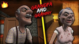 GRANDPA AND GRANNY HOUSE ESCAPE - GHOST MODE FULL GAMEPLAY.