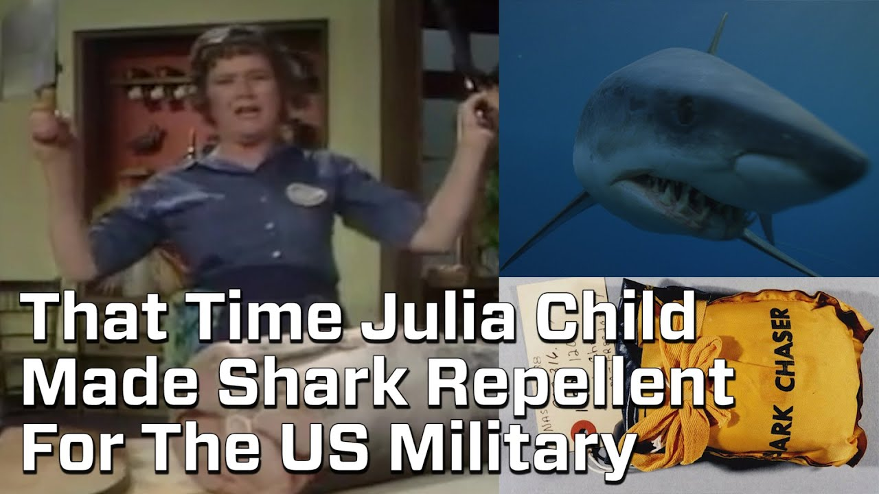 Image result for Julia Child, CIA Shark Expert