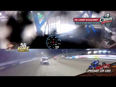 #4Crown Winner - #1S Logan Schuchart - World of Outlaws Sprint Car Series - Eldora Speedway 9-27-19
