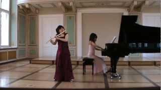 Gaubert Madrigal Flute Atsuko Koga Piano Mayuko Miyata