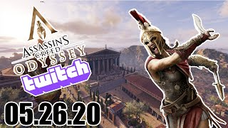 05.26.2020 Couple More Cultist To Go | AC Odyssey - Twitch Vod