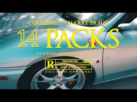 Смотреть клип Curren$Y & Harry Fraud - 14 Packs Feat. Smoke Dza