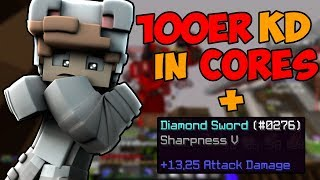 100er KD Versuch in Cores in einem Video!!! + Sharpness V I Minecraft Cores Minimichecker