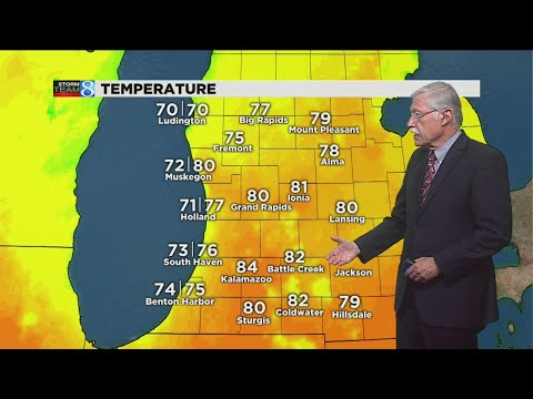 Storm Team 8 forecast: 6 p.m. 081517