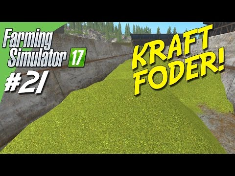 KRAFT FODER! / POWER FOOD! - Farming Simulator 2017 dansk Ep 21