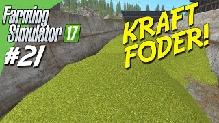 KRAFT FODER! / POWER FOOD! - Farming Simulator 2017 dansk Ep 21