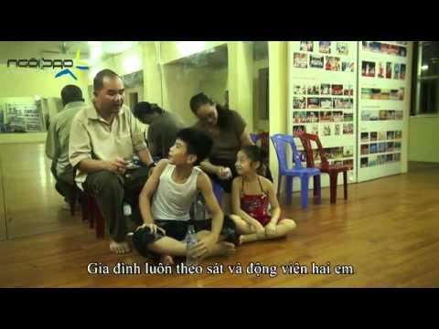 [HANOI - APTECH] Đăng Quân - Bảo Ngọc chí chóe trong giờ học