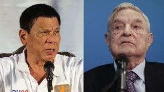 George Soros BANNED from the Philippines!!!