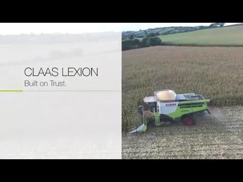 LEXION. Built on Trust. Troy Stuart, Devon. / 2016 / en