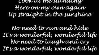 Seeed - Wonderful Life Lyrics (HD)