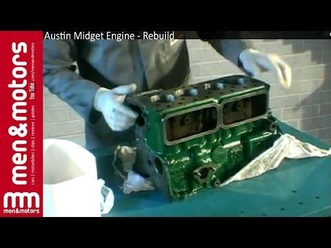 Austin Midget Engine - Rebuild