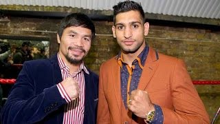 MANNY PACQUIAO VS AMIR KHAN DEAL REACHED FOR APRIL 23RD