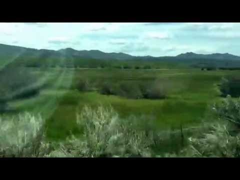Upper Bruneau Meadow - drive in to the town of Charleston Nevada Metro area