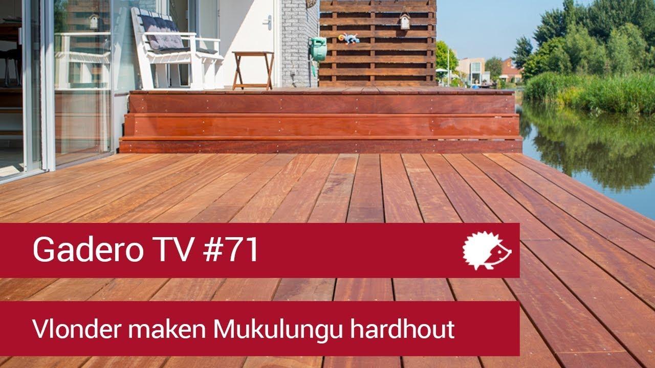 71 Vlonder Maken Mukulungu Hardhout Montagetips