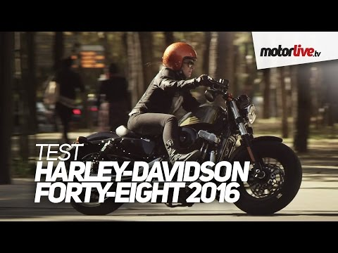 TEST | HARLEY-DAVIDSON FORTY-EIGHT 2016
