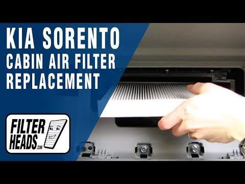 2013 hyundai fuse box how to replace cabin air filter kia sorento youtube  how to replace cabin air filter kia sorento youtube