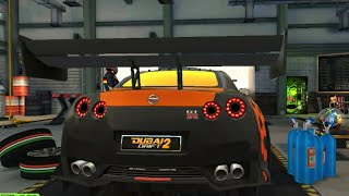 Nissan GTR 35 Fire Ball Huge Spoiler Drift - Dubai Drift 2