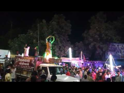 Ganpati visarjan gadchiroli 2016