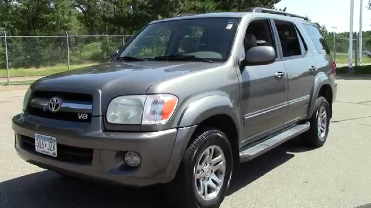 2005 Toyota Sequoia Limited 1u150140a Youtube