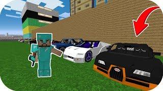 ZENGİN VE FAKİR ŞEHRE BİRSÜRÜ ARABA GETİRDİ! 😱 - Minecraft