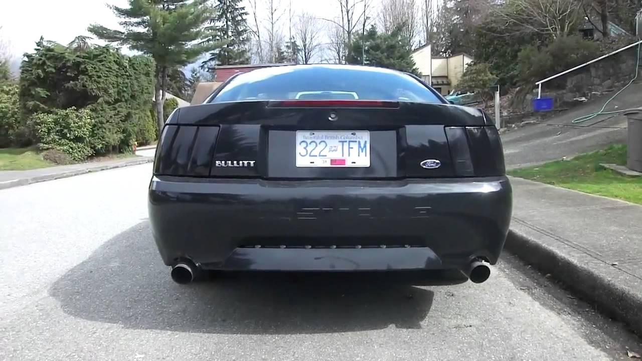 Supercharged 2000 Mustang Gt And A 2001 Mustang Bullitt