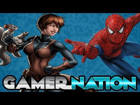 SUPER HERO GAMES THAT ARE SUPER Gamer Nation Poster