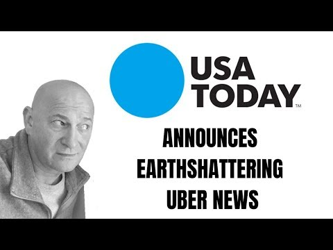 Here's What USA Today Had To Say About Uber Driving Trends